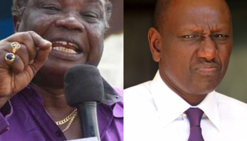 "Atwoli: DP Ruto is a thief who doesn't understand the meaning of the name 'Hustler"" – Ruben FM"